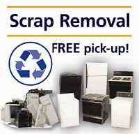 FREE Pickup Service - Scrap Metal - Appliances - E-waste - TV's