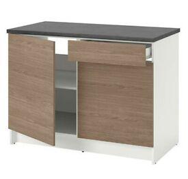 KNOXHULT base cb w drs/drw 120 wood eff/grey Was£115 IKEA #BargainCorner #CircularHub