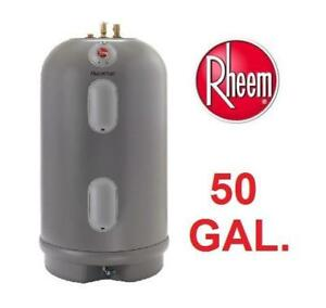 NEW RHEEM ELECTRIC WATER HEATER MSR50245 138203303 50 GAL. 4500-WATT