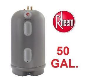 NEW RHEEM ELECTRIC WATER HEATER MSR50245 138203303 50 GAL. 4500-WATT
