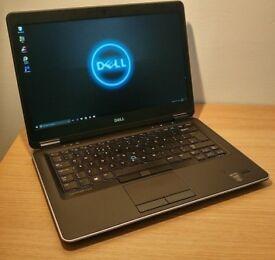 Dell Latitude E7440 Ultrabook laptop SSD hd and 500gb hd 8gb ram Intel core i5 4th generation