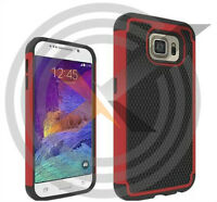 Galaxy S6, S6 Edge and HTC M9 Hybrid 2-Layer Armor Case