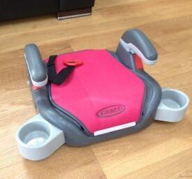 Car booster seat pink