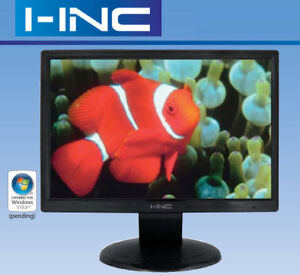 """19"""" Widescreen LCD Computer Monitor by I-INC"""