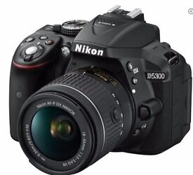 Nikon D5300 new (Purchased in January)