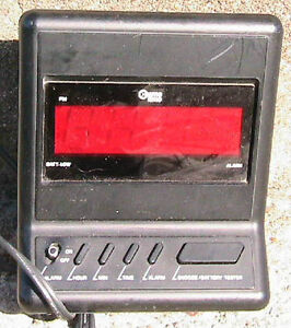 SONY alarm radio, 110V or battery operated AM and FM. West Island Greater Montréal image 3