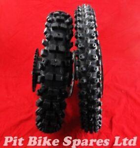 Pit Bike Wheels & Tyres. Black 14