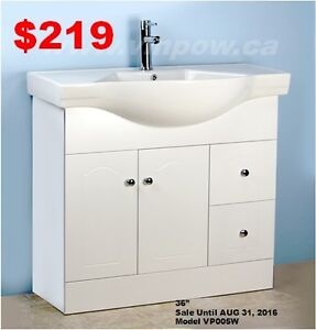 Bathroom Vanities from $169  & Toilet Promotion from $129!