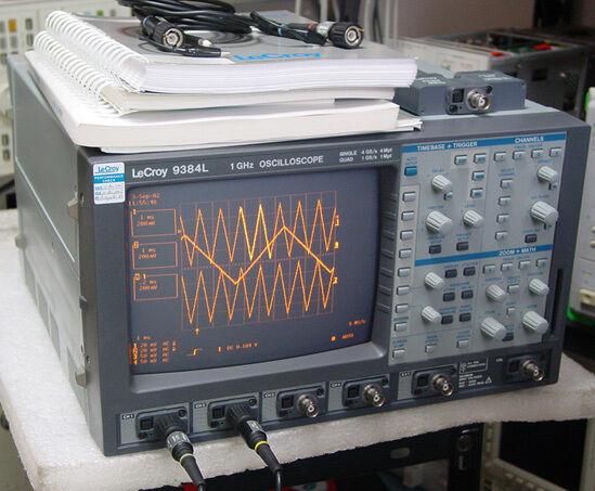 Lecroy 9384l Dc-1ghz 4ch 4gs/s 4mw Digital Oscilloscope