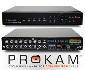 High Res D1 Pro 1TB 8 Channel CCTV DVR - H264 - iPhone - Android - Blackberry