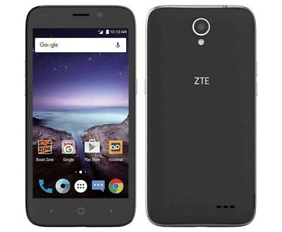 ZTE Prestige 2 - 16GB - Black - (Boost Mobile) New With 3 Month Of Service Promo