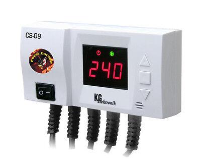 Temperaturdifferenzregler CS-09 f. Solarkollektor Pufferspeicher o. Swimmingpool