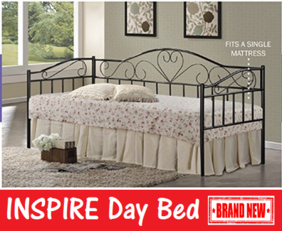 Single Size DAY BED Frame - BRAND NEW and with FREE DELIVERY