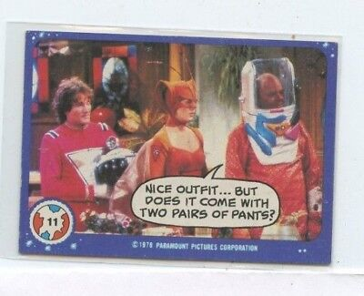 1978 MORK AND MINDY CARD #11 NICE OUTFIT BUT DOES IT COME WITH TWO PAIRS OF PANT (Mork Outfit)