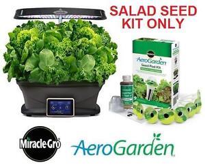NEW MIRACLE-GRO AEROGARDEN SEED KIT Heirloom Salad Greens Seed Pod Kit (9-Pod) Patio, Lawn  Garden 101337064