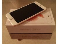 Rose Gold iPhone 6s Plus 128 GB UNLOCKED/2 MONTHS USED