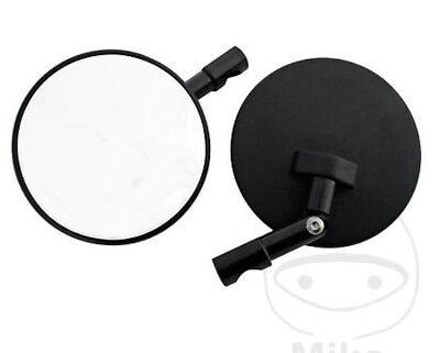 1 Paar Shin Yo Lenkerendenspiegel SUPERBIKE schwarz klappbar