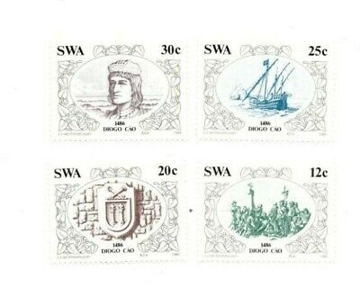 SPECIAL LOT South West Africa 1986 552-5 - Explorers - 25 Sets of 4v - MNH
