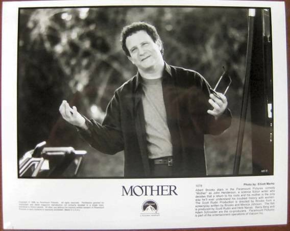 Albert Brooks close up in Mother 1996 original movie photo 19206