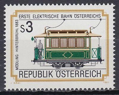 Österreich Austria 1983 ** Mi.1757 Eisenbahn Railway