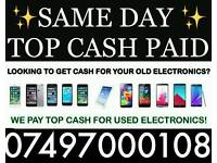 TOP CASH PAID NOW / IPHONE 7 PLUS IPHONE 6S IPHONE 6 SAMSUNG GALAXY S8 S7 S6 MACBOOK PRO IPAD PRO