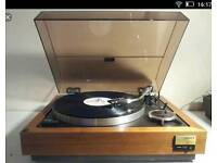Wanted vintage record decks & AMPLIFIER S