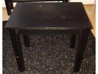 Argos table black colour