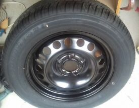 Spare Wheel and Tyre.