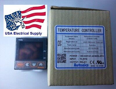 Tx4s-14r Autonics Temperature Controller 100-240vac 5050hz