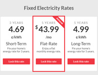 Fixed Rate Electricity  /  Natural Gas - Best Rates in Ontario