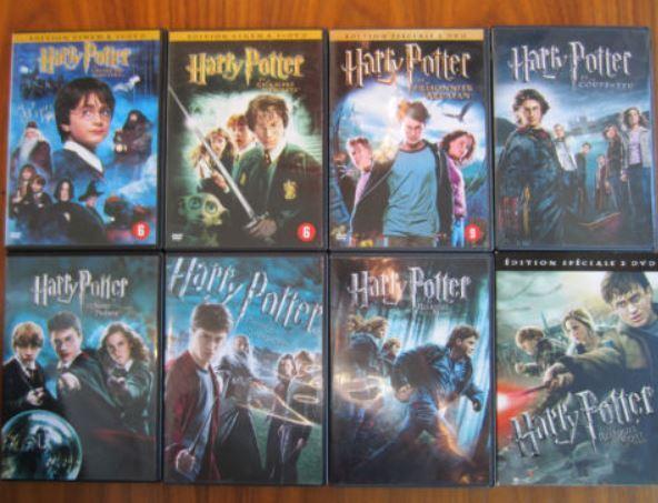 harry potter dvds all 8 films plus twilight dvds in brighton east sussex gumtree. Black Bedroom Furniture Sets. Home Design Ideas
