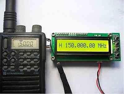 0.11100mhz 1.1ghz Frequency Counter Tester Measurement F Ham Radio Plj-1601-c