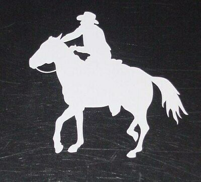 HORSE COWBOY decal for your tack box rodeo truck or horse trailer Tack Your Horse