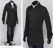 Mens Slim Fit Coat