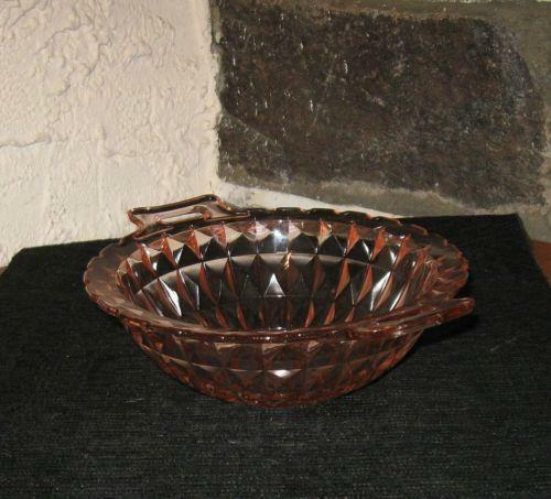Glass Bowl With Handle Ebay