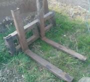 Used Pallet Forks