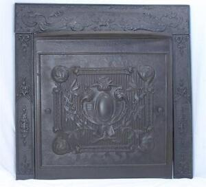 iron fireplace cover. Cast Iron Fireplace Screen  eBay