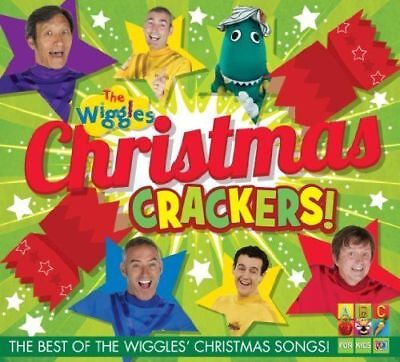 THE WIGGLES Christmas Crackers! CD NEW Best Of Christmas Songs Caddy (Best Christmas Crackers)