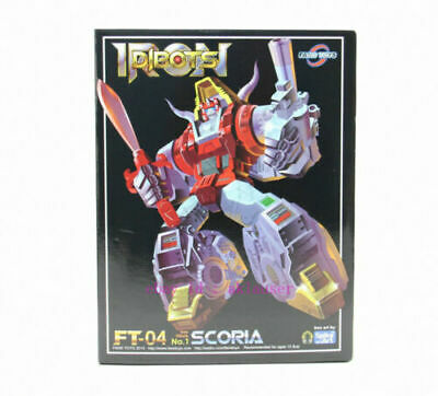 Fans Toys FT04 FT-04 FT Scoria Figures Masterpiece TRANSFORMERS MINT