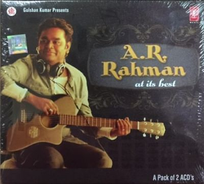 Used, A R RAHMAN AT HIS BEST SPECIAL 2 CD SET for sale  Bolton