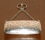Solid Silver Purse