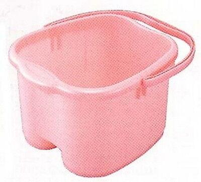 Japanese Foot Detox Spa Bath Bucket Tub Pink #0036