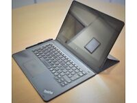 "Lenovo ThinkPad Helix 2 20ch-bu-Tablet 11.6"" 128GB SSD Window Pro Wifi Webcam loved"