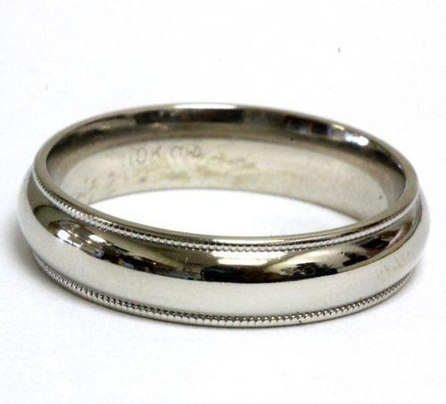 Vintage Mens Gold Wedding Ring EBay