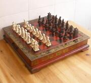 Wood Game Table