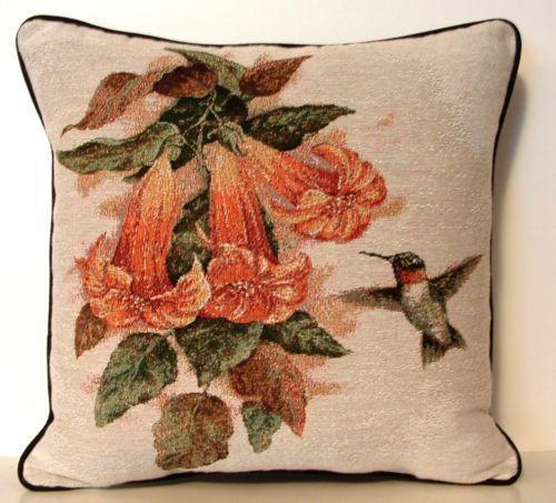 Hummingbird Pillow Ebay