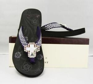 10f687655adf Montana West Flip Flops Sandals · Montana West Aztec Flip Flops Bling ...