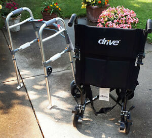 Drive Transport Chair and Walker