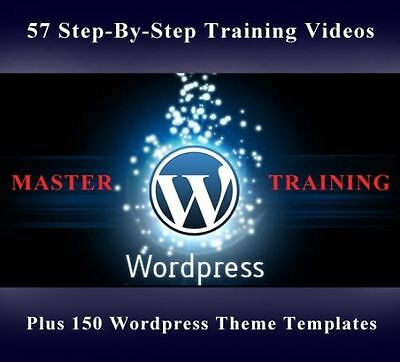 Wordpress Master Training Guide  57  Instructional Videos Master Resale Rights