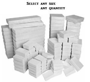 LOT-OF-20-50-100-WHITE-COTTON-FILLED-BOX-MIXED-WHITE-JEWELRY-BOXES-GIFT-BOX